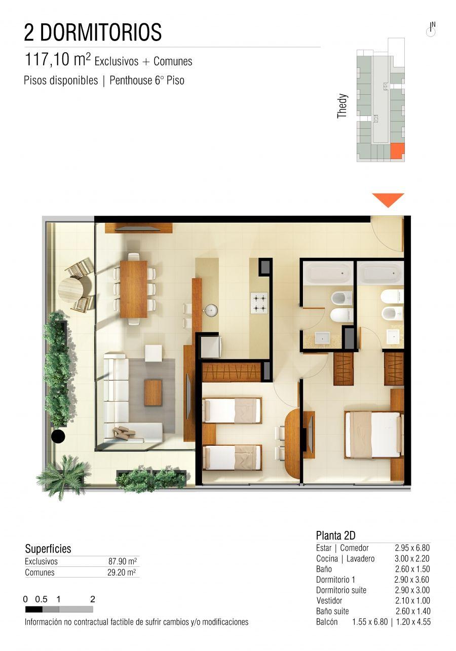 condominio 2 dorm | planos | Pinterest | Dorm