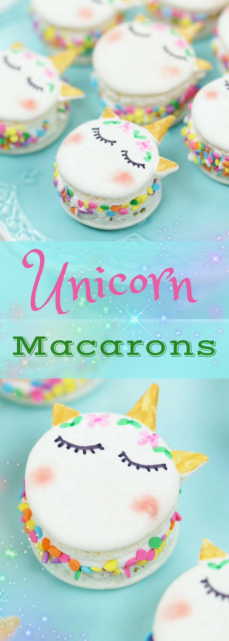 Unicorn Macaron Recipe