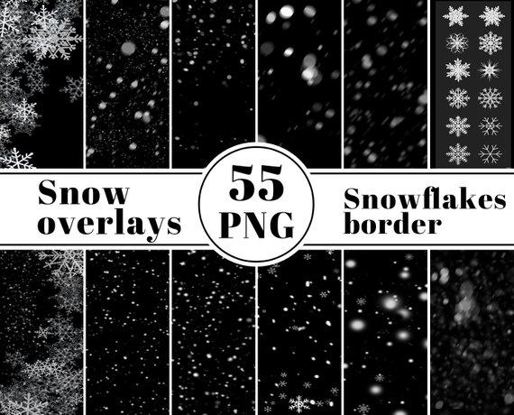 100 Snow Overlays Photoshop Overlayschristmas Overlayssnow Etsy Photoshop Overlays Snow Overlay Photo Overlays
