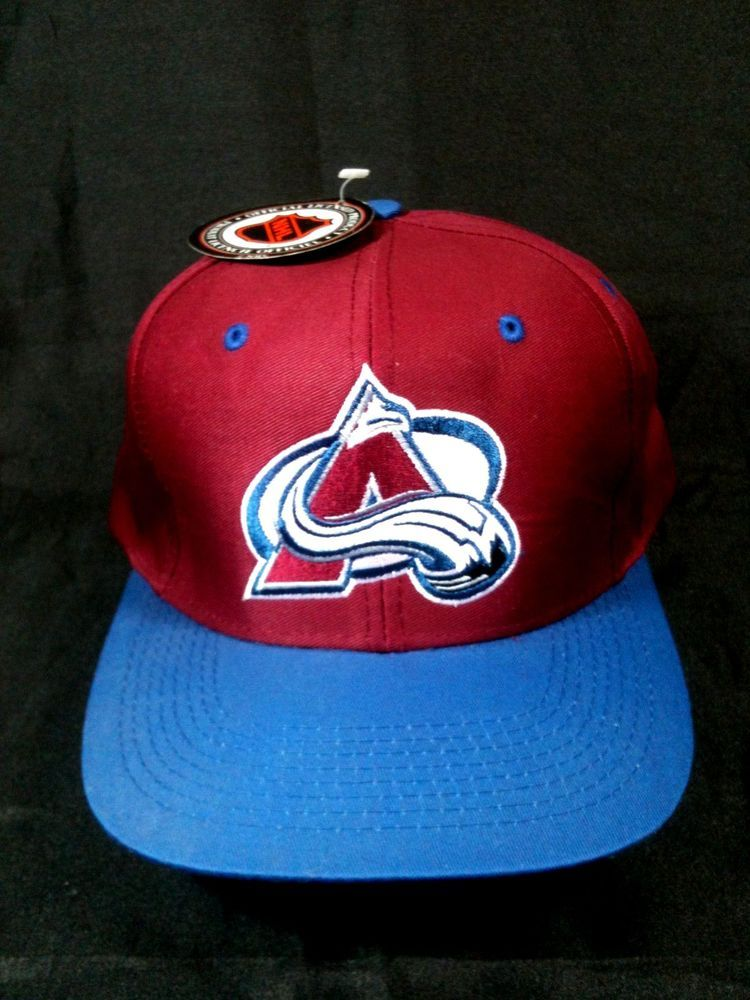 quality design a022a 48ba7 ... order colorado avalanche nhl snapback cap hat by logo 7 maroon blue new  with 387f1 1c29f