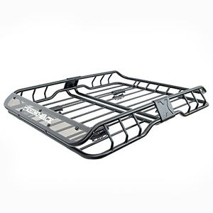 Rhino Rack Rmcb01 Xtray Sml Small Steel Roof Top Luggage Basket Cargo Platform Roof Basket Roof Rack Truck Accessories