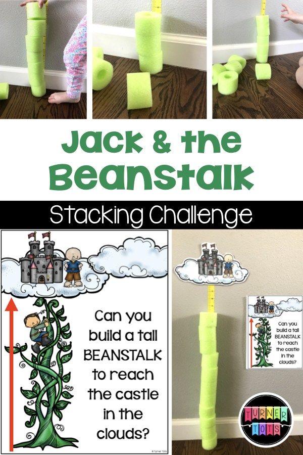 Beanstalk Extras | Stacking Challenge & Growing Bean Plants