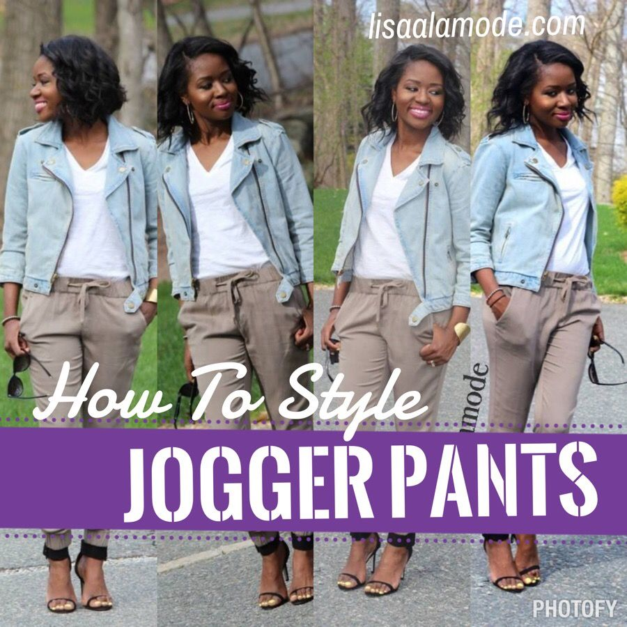 How to style jogger pants outfit fashion my style pinterest fall fashion floridaeventfo Image collections