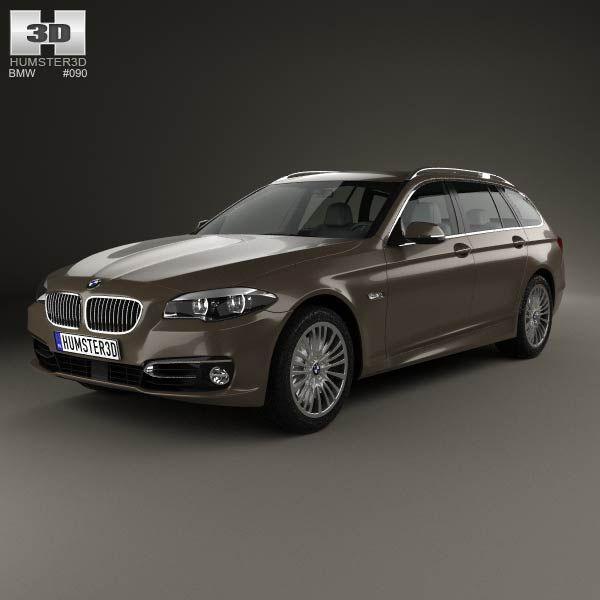 3d Model Of Bmw 5 Series F11 Touring 2014 Rolls Royce Rolls