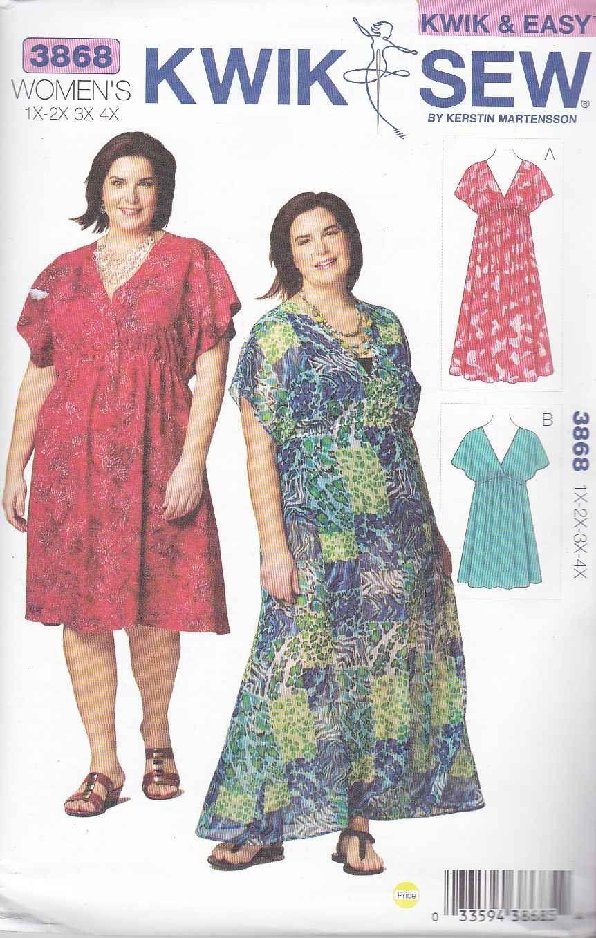 Kwik sew sewing pattern 3868 womens plus size 1x 4x approx 22w kwik sew sewing pattern 3868 womens plus size 1x 4x approx 22w 32w jeuxipadfo Choice Image
