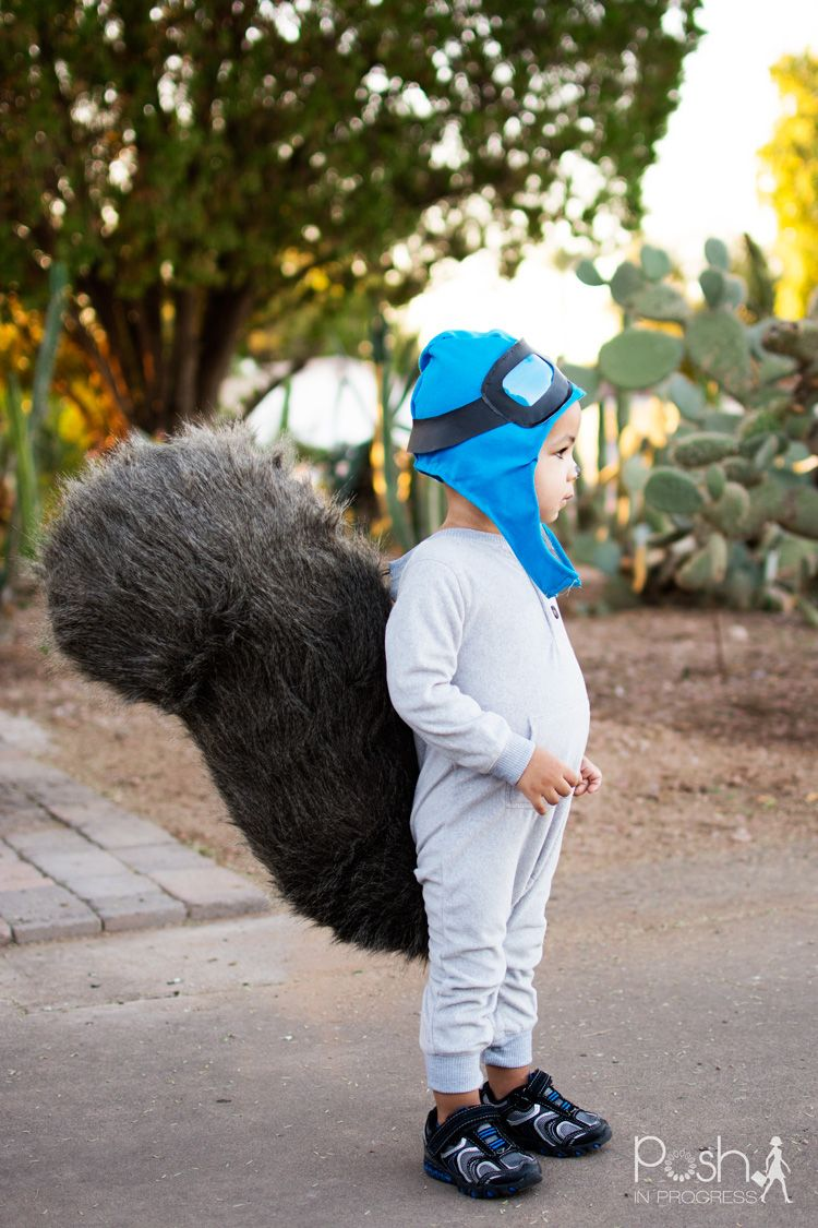 Rocky the Flying Squirrel DIY Aviator Hat | Diy toddler halloween ...