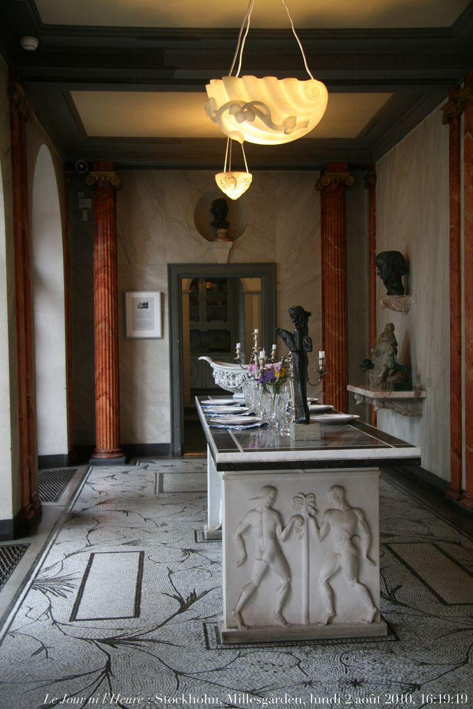 Le Jour ni l\u0027Heure 0101  salle à manger à Millesgården, demeure du