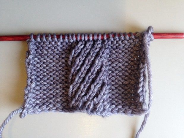 Mock cables: spiral-stitch edition - LoveKnitting blog