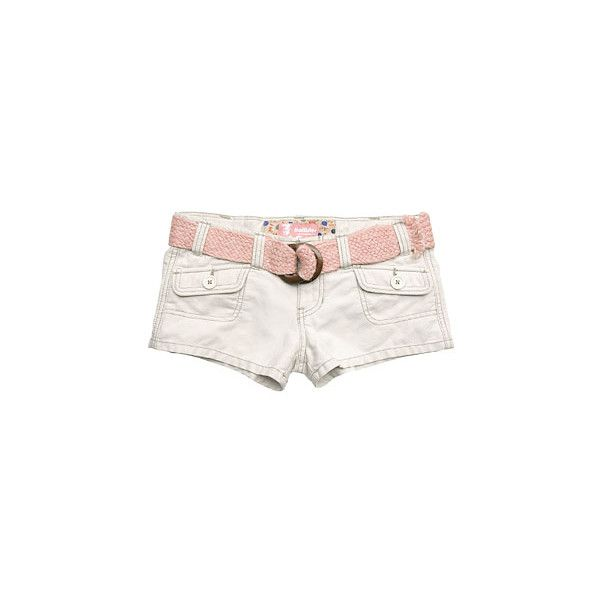 c ❤ liked on Polyvore featuring shorts, bottoms, pants, pink, hollister co. shorts, pink shorts and hollister co.