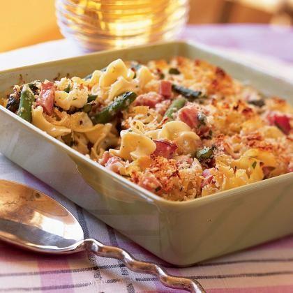 Asparagus-and-Ham Casserole   Gezonde recepten, Lekker ...