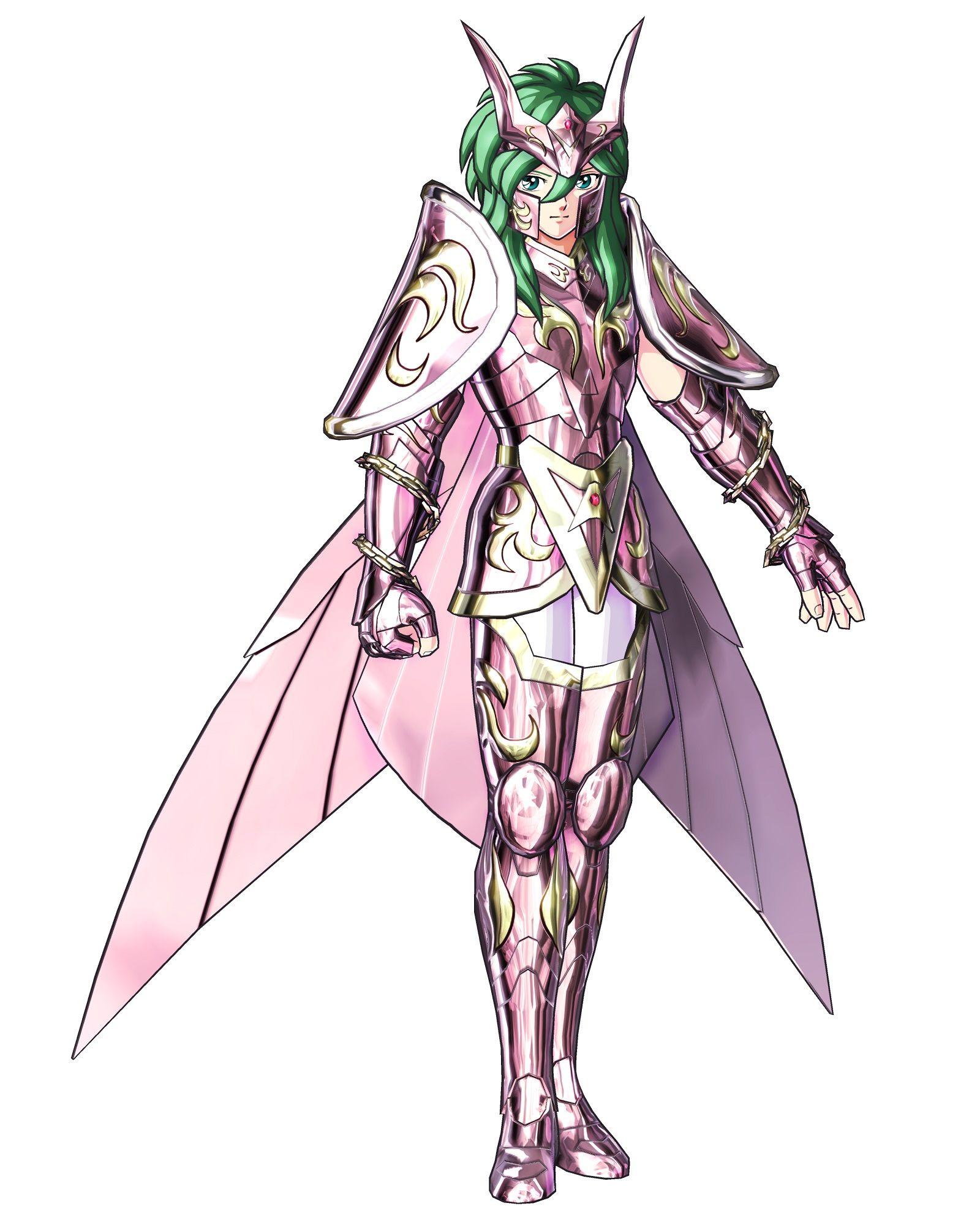 Shun de Andrómeda (armadura divina) Seiya caballeros
