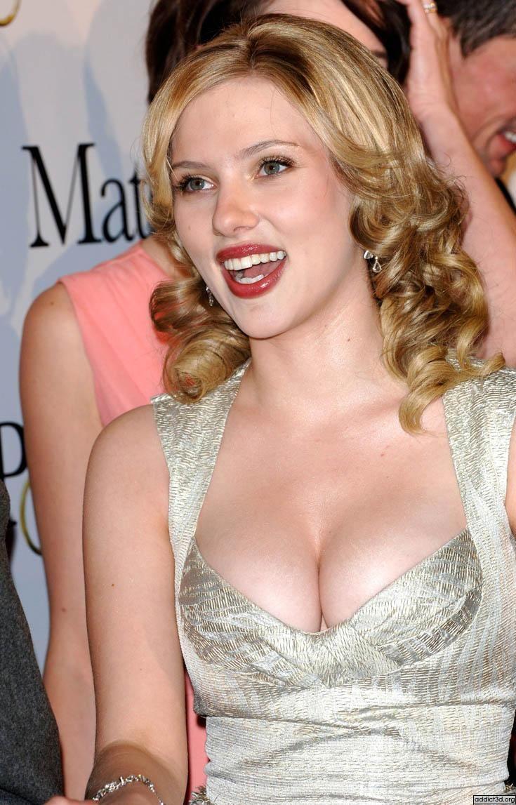 Scarlett Johansson Cleavage Steep Pinterest