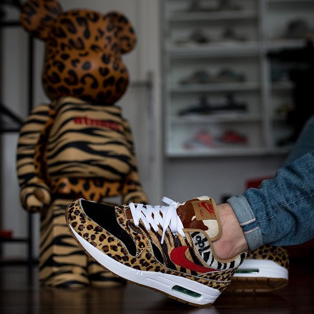 "Nike Air Max 1 ""Animal 2.0"" #supreme #animal #airmax"