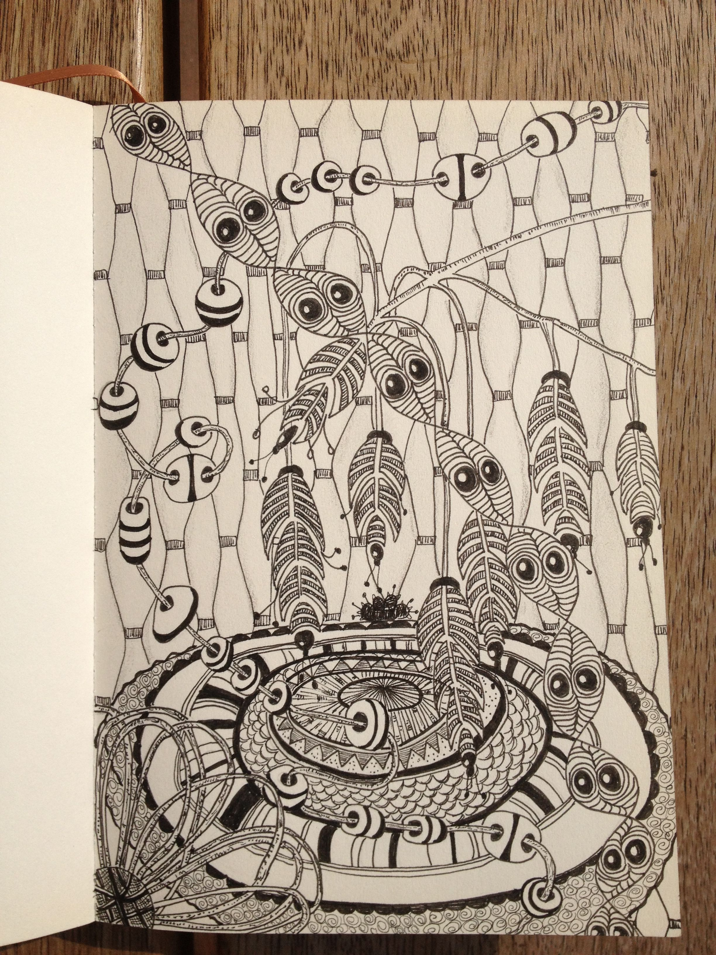 Zentangle 8 - Petra Schneider