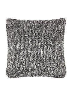 Marl cushion, grey