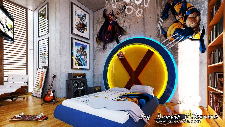 Xmen Room