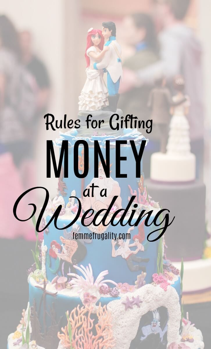 Rules For Gifting Money At A Wedding Gift Money Etiquette And Frugal