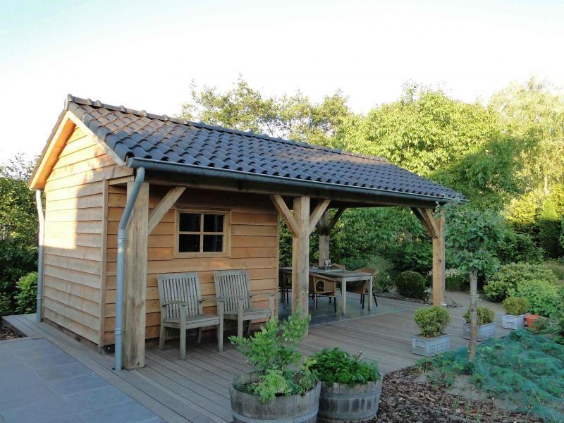 Veranda Met Schuur : Schuur veranda oranjewoud vrijstaande houten berging met grote
