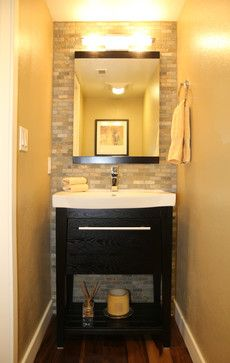 Easy Condo Remodel  Contemporary  Powder Room  San Francisco Classy San Francisco Bathroom Remodel Review