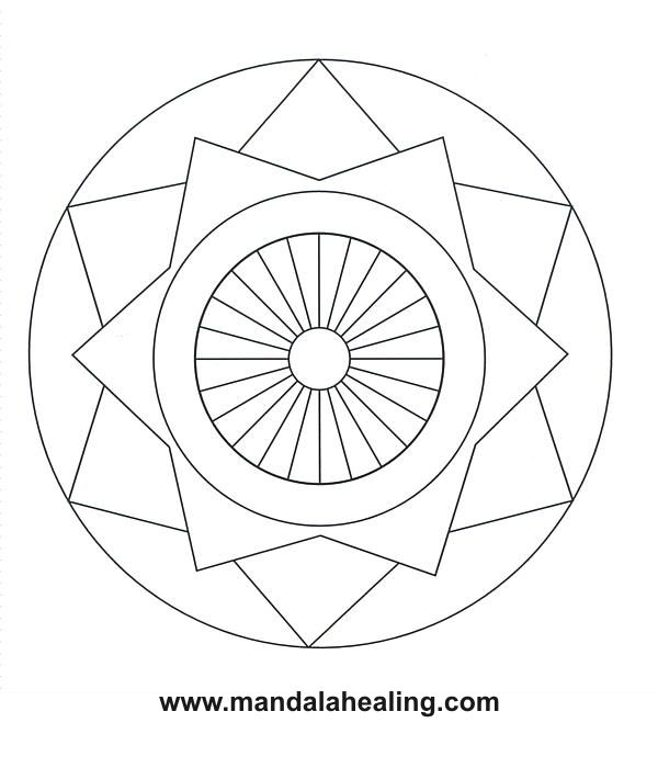 Coloring Book Mandalas