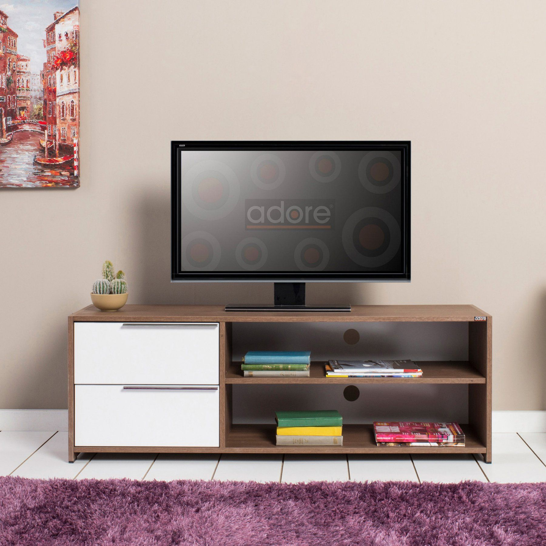 Pin By Symonette Fanjanarivo On Meubles In 2020 Tv Cabinets House Plans With Pictures Tv