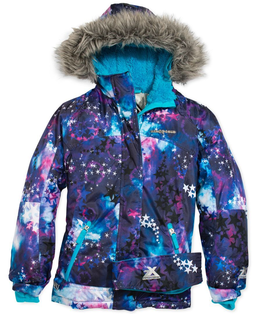 3dbda49de ZeroXposur Girls  Yola Snowboard Jacket