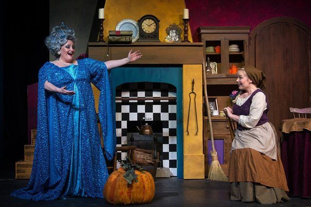 The Fairy Godmother (Sheryl Lawrence-Howard) suggests to Cinderella ...
