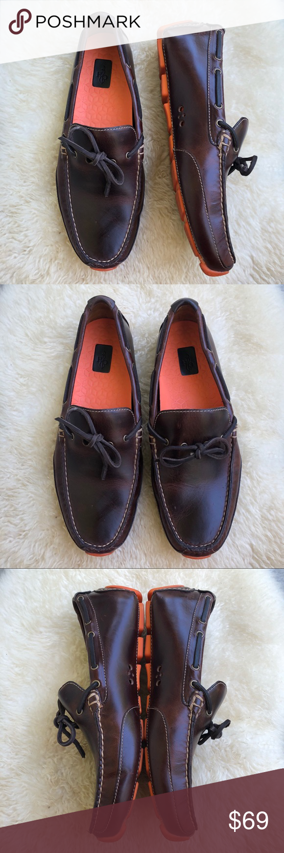 8d02e8298a8 Coke Haan moto grand camp moc toe loafers Dark chestnut brown leather. Cole  Haan Shoes Loafers   Slip-Ons