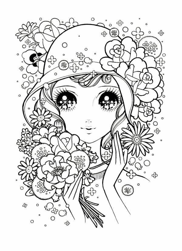 ファッションぬりえ - ミツキ・MA・ウスの小さな世界   Coloring Pages ...