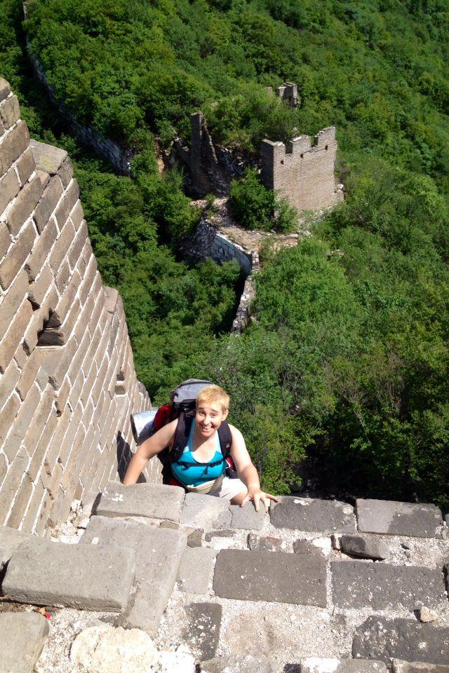 Escalando la Gran Muralla #China Reserva Natural Jiankou