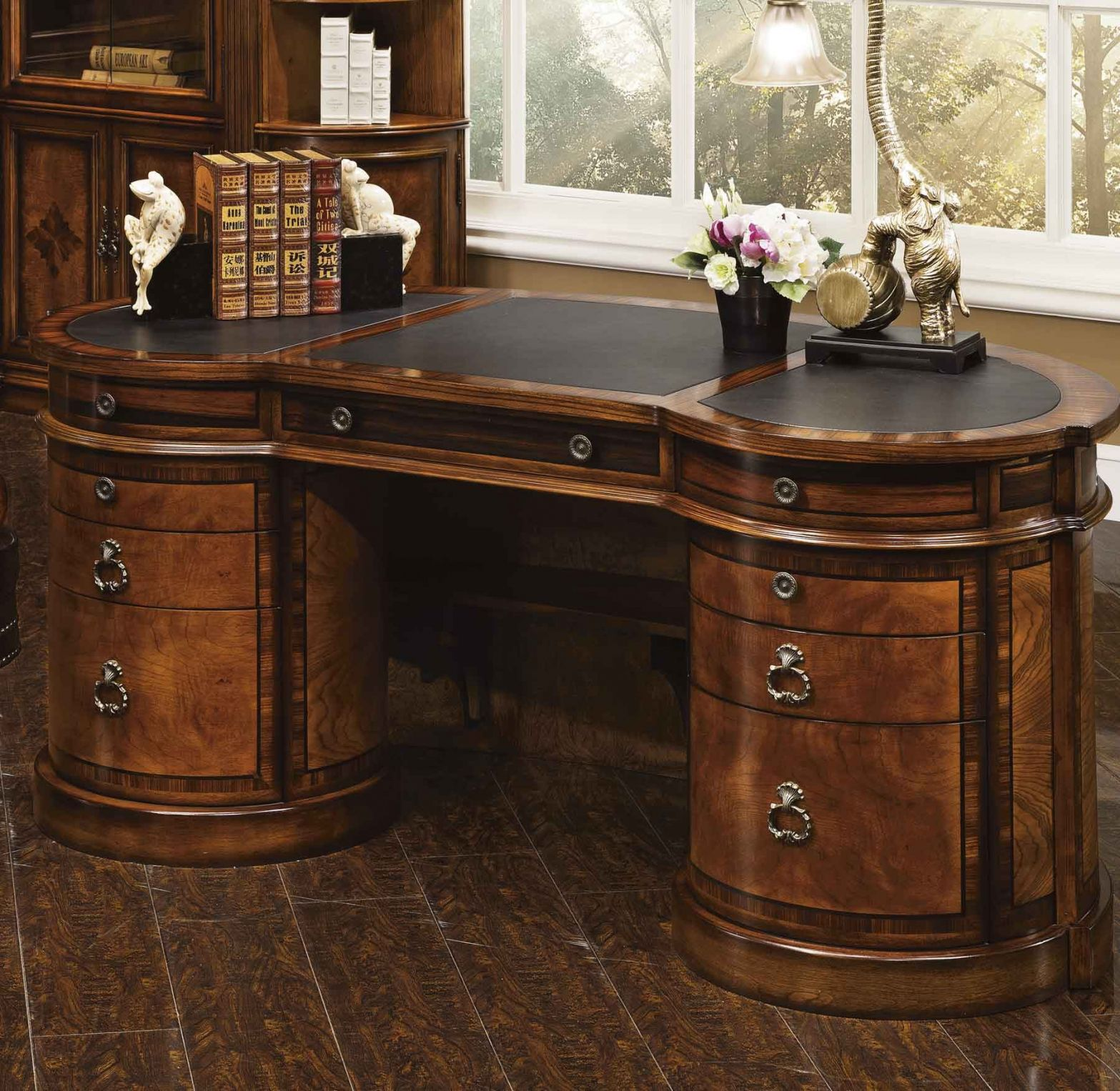 50+ Antique Executive Desks - Real Wood Home Office Furniture Check more at  http://adidasjrcamp.com/55-antique-executive-desks -used-home-office-furniture/ - 50+ Antique Executive Desks - Real Wood Home Office Furniture Check