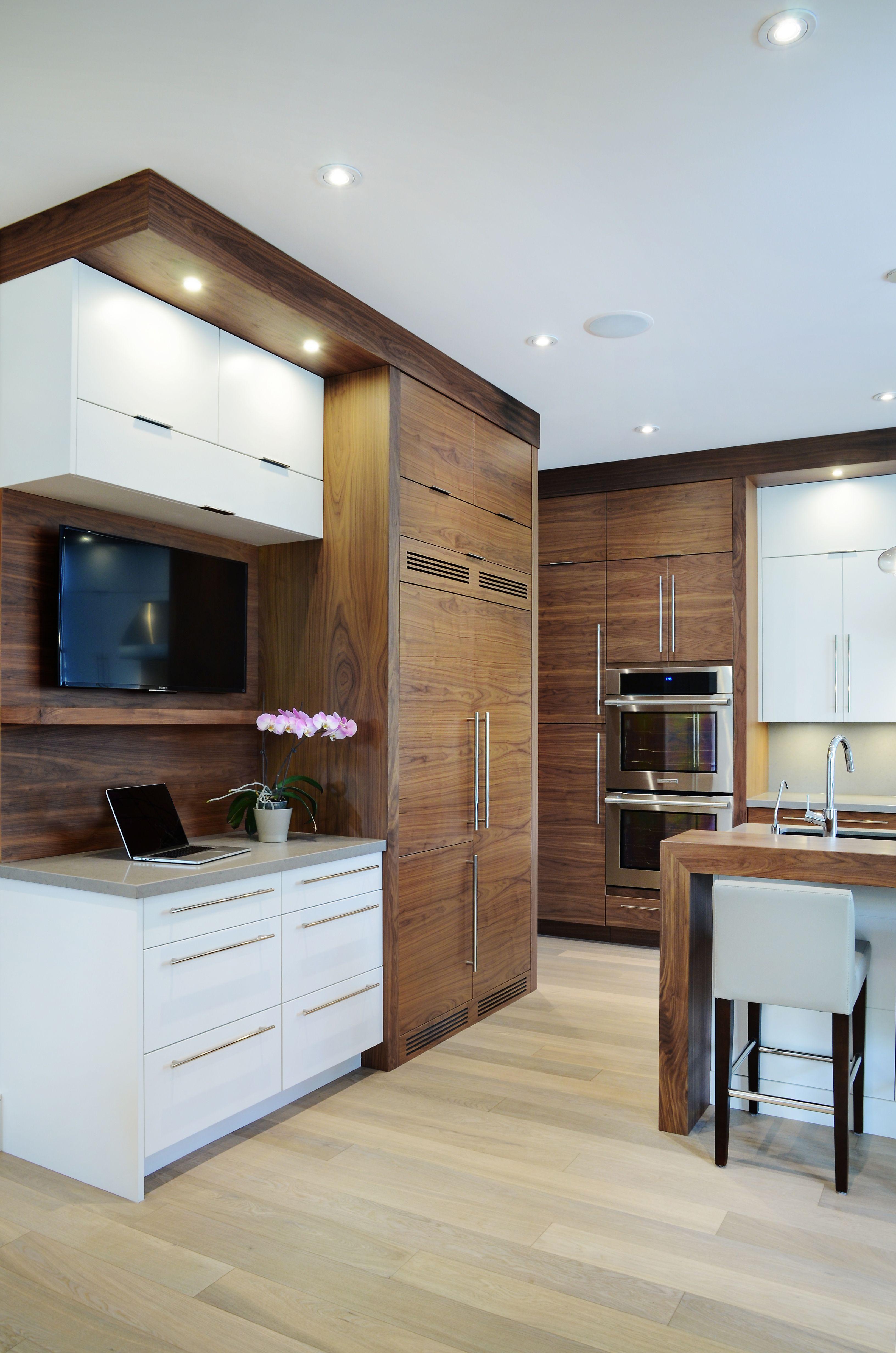 Trendy Kitchen In Oakville Paint Cabinets White Trendy Kitchen Custom Cabinets