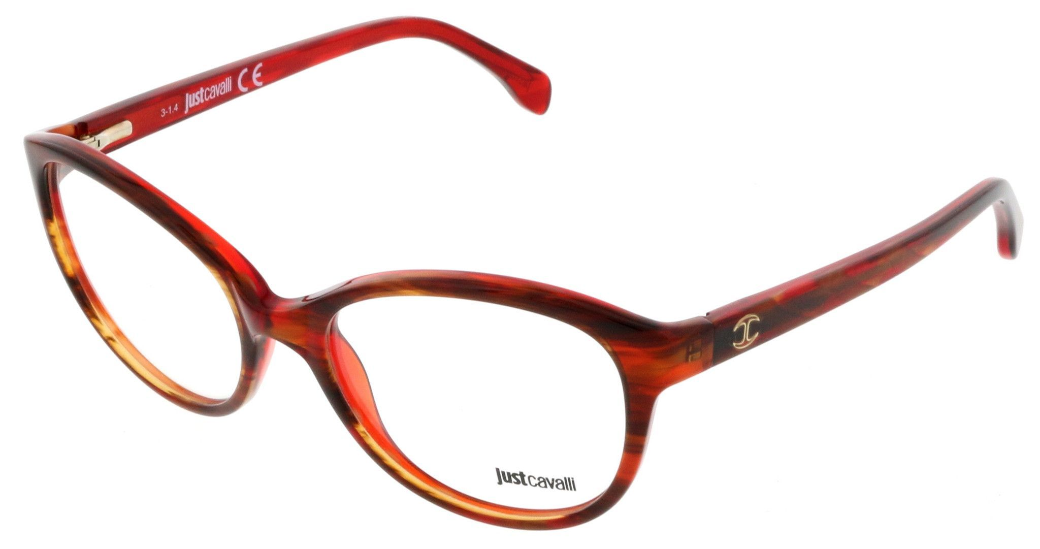 Just Cavalli JC0477/V 050 Maroon Butterfly Optical Frames | Pinterest