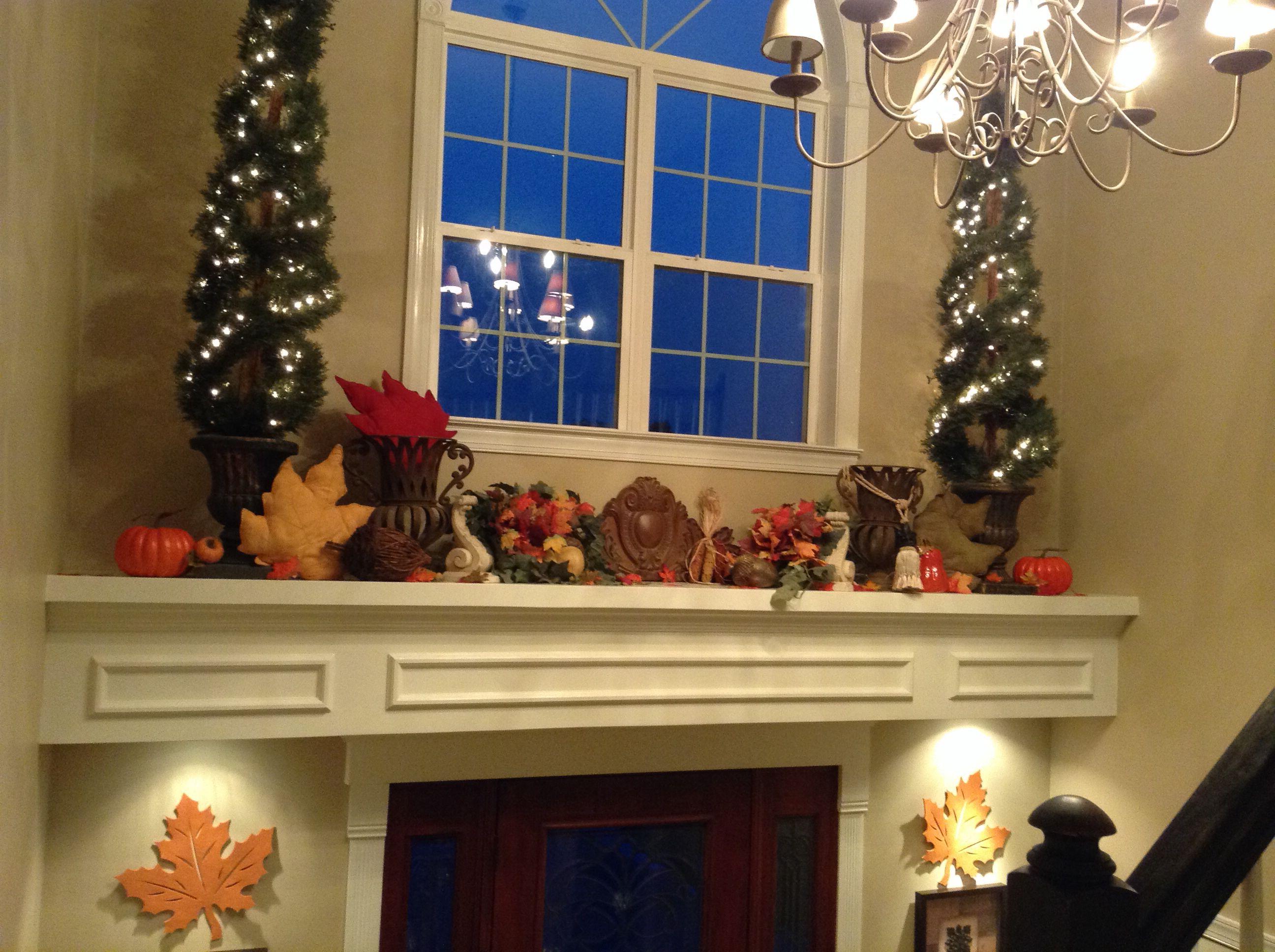 2014 Fall Foyer Ledge Foyer Decorating Ledge Decor Entry Decor
