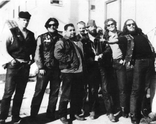 L TO R :Tiny the Rat, Big Al Perryman, Fat Freddie, Crazy Red, Dirty