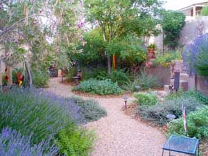Pea Gravel Xeriscape Water Wise Landscaping Outdoor Gardens