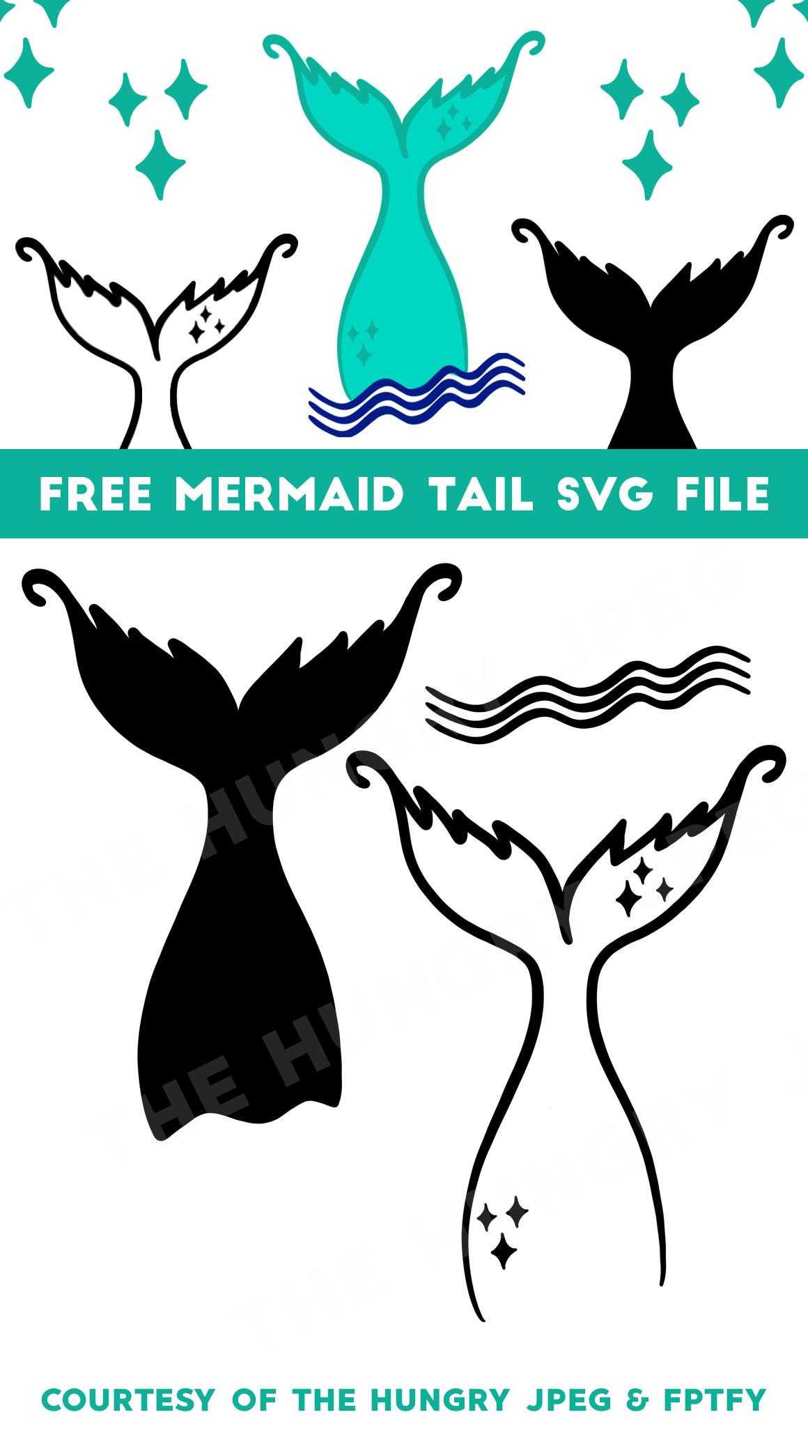 Mermaid Tail Svg Free