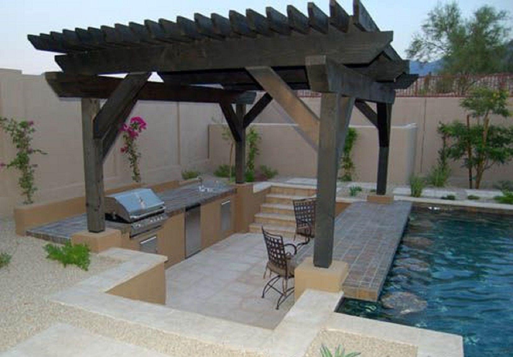 Resultado de imagen para piscina patio trasero