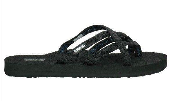 991eec7ce Teva Sandals Women s Olowahu Mix B Black On Black Flip Flops