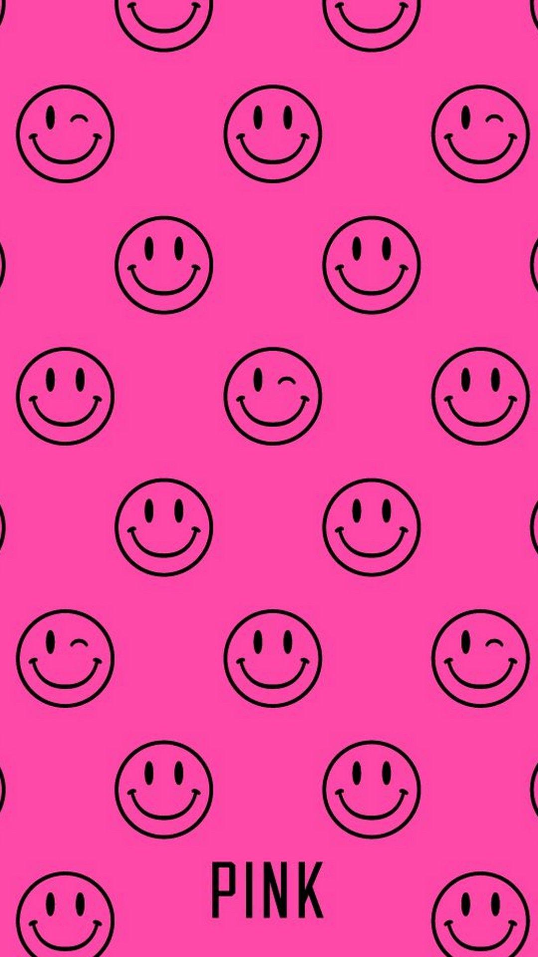 Pink Emoji Wallpaper Iphone Best Iphone Wallpaper Vs Pink Wallpaper Pink Wallpaper Iphone Pink Nation Wallpaper