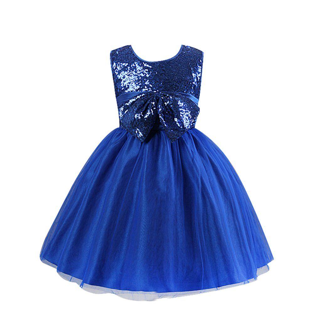 robe de ceremonie fille a pailletes bleu fonce 6ans 120cm robe pinterest. Black Bedroom Furniture Sets. Home Design Ideas