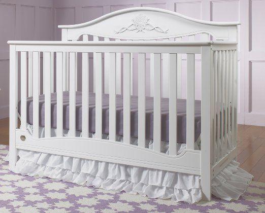 Fisher-Price Mia 4-in-1 Convertible Crib, Snow White | Baby Cribs ...