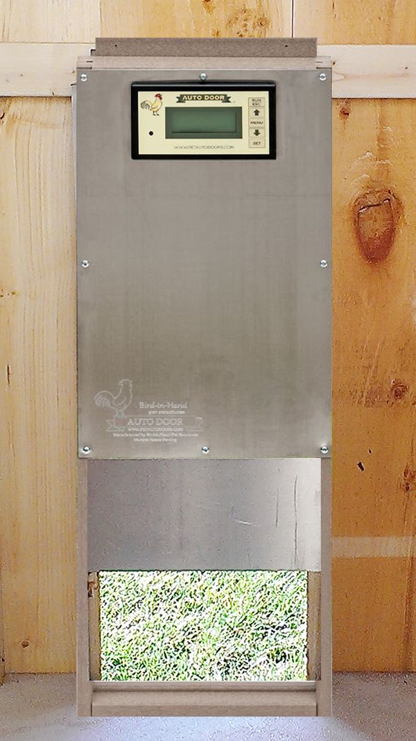 Automatic Chicken Coop Door Basic Chickens Automatic