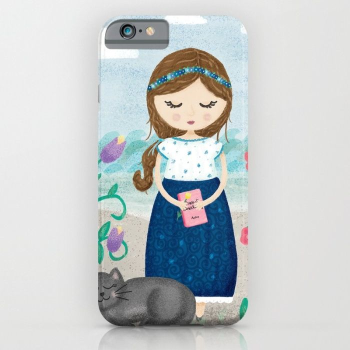 She is most alive by the sea iPhone & iPod Case