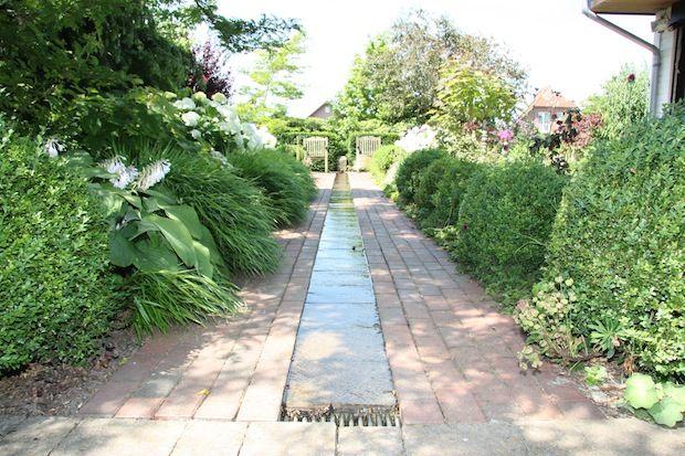 Wasserlauf für den Garten