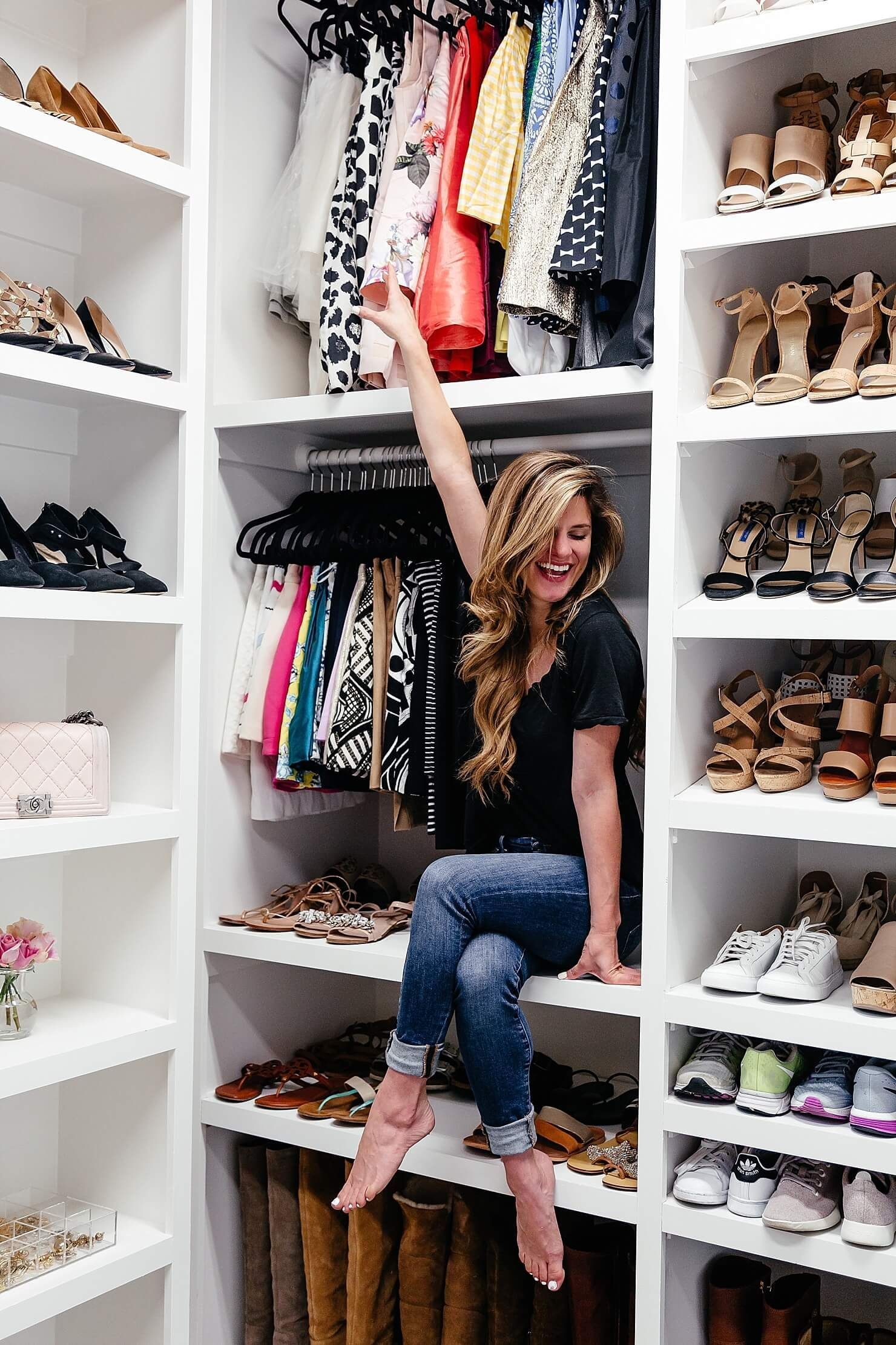 Closet Style The Difference Between Walk In Reach In Armoires Closet Designs Closet Design Closet Layout