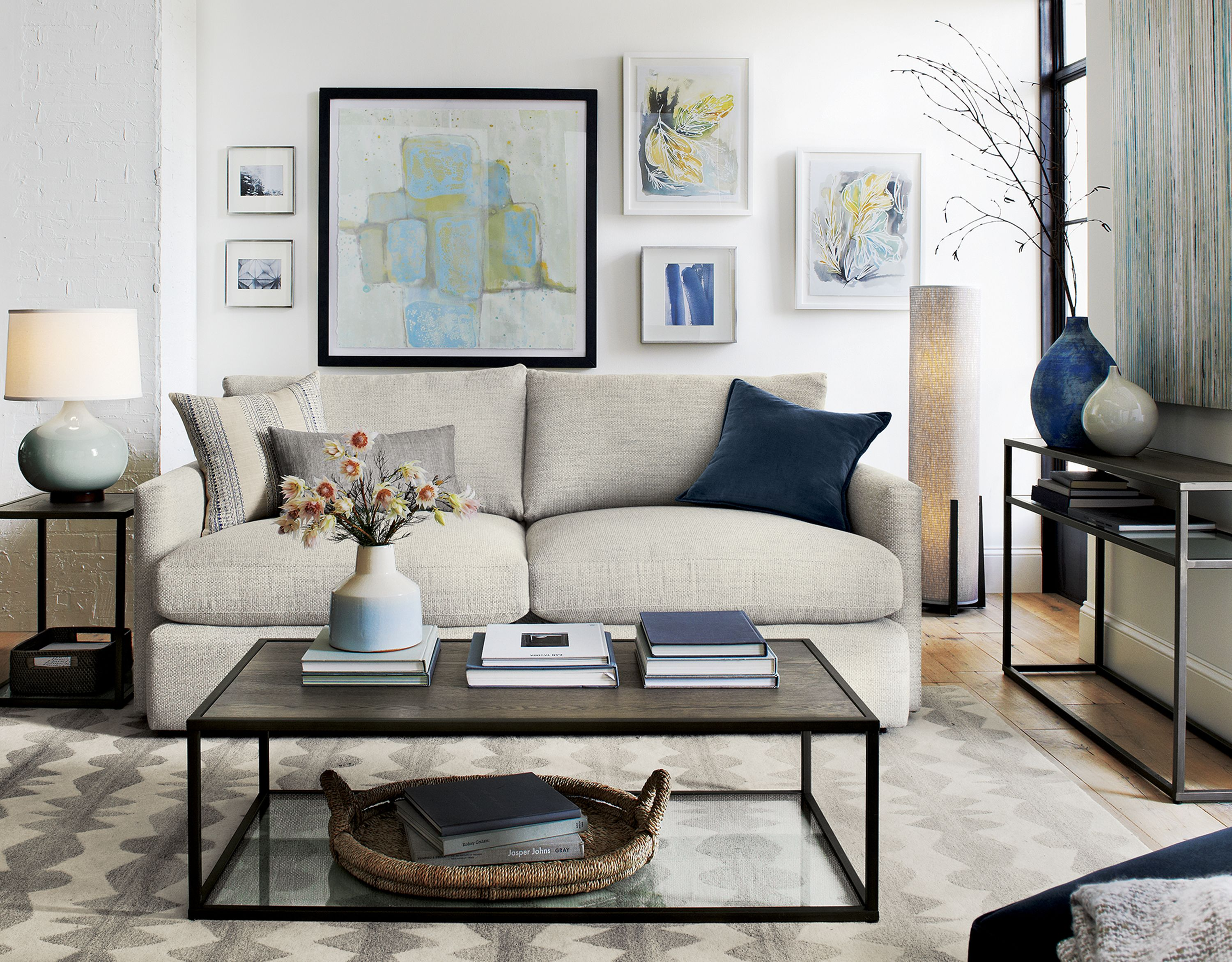 Lounge Ii Comfortable Apartment Sofa Reviews Crate And Barrel