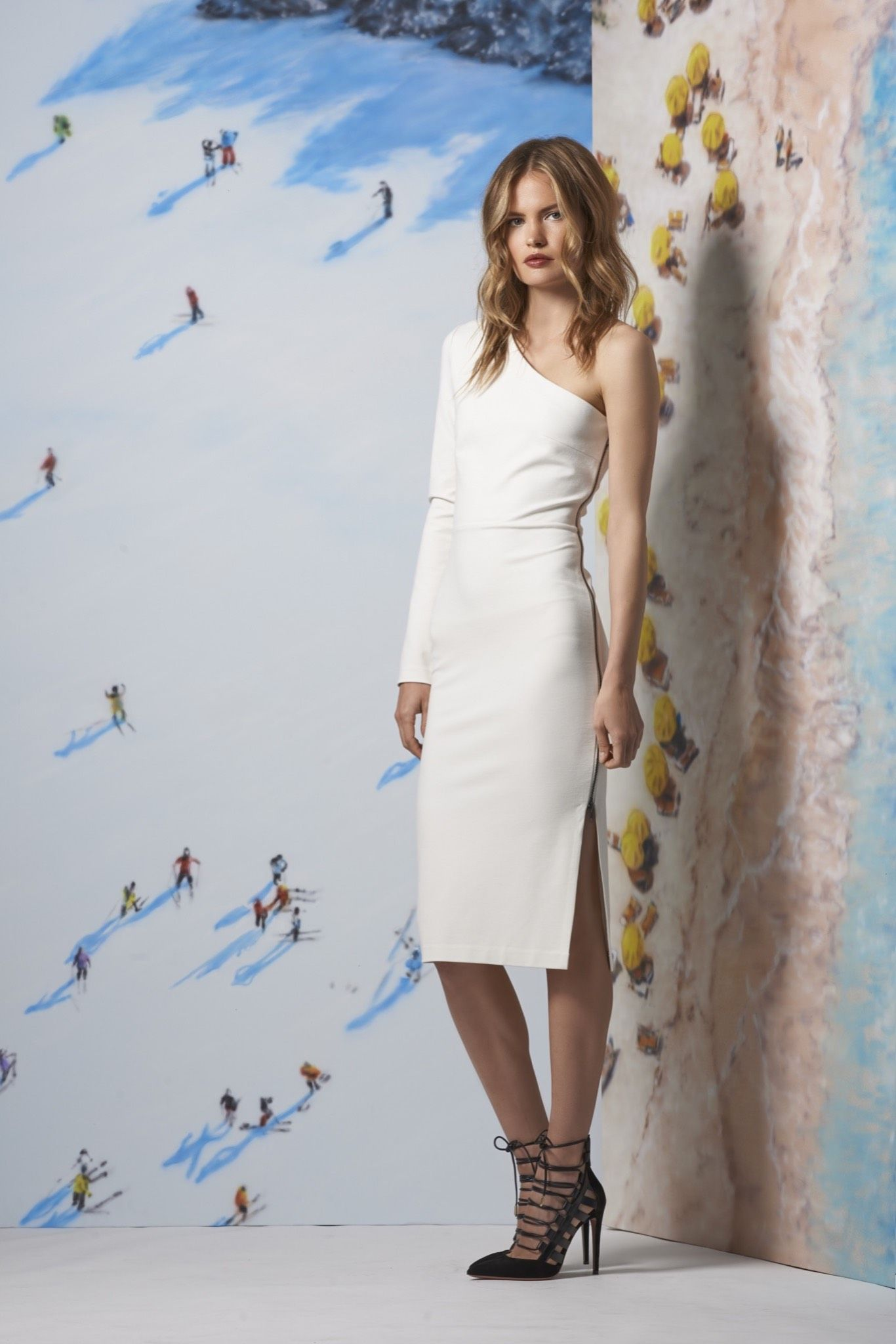 Veronica Beard Resort 2016 - Collection - Gallery - Style.com  Diane Kruger would look great in this dress!   http://www.style.com/slideshows/fashion-shows/resort-2016/veronica-beard/collection/7