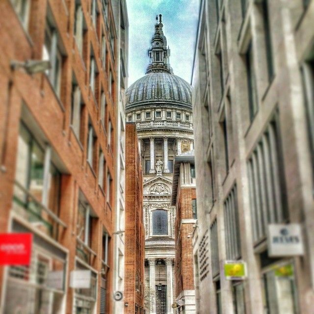 St Paul S Cathedral From Paternoster Square In London With Images The Places Youll Go Special Places Places To See