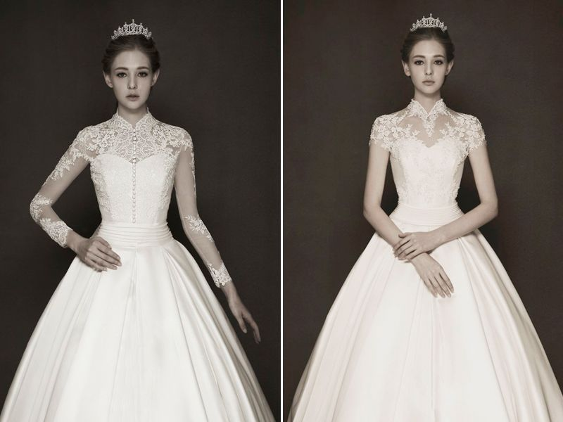 Timeless Elegance! 30 Swoon-worthy Lace Wedding Dresses For Classic ...